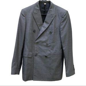 Burberry  wool silk blend suit jacket/blazer